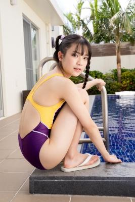 Mao Imaizumi Swimming Race Swimsuit Image Purple arena arena Vol1028