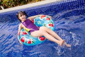 Mao Imaizumi Swimming Race Swimsuit Image Purple arena arena Vol1041
