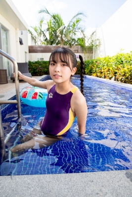 Mao Imaizumi Swimming Race Swimsuit Image Purple arena arena Vol1048
