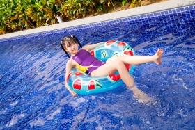 Mao Imaizumi Swimming Race Swimsuit Image Purple arena arena Vol1042
