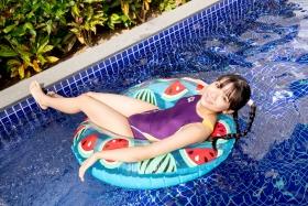 Mao Imaizumi Swimming Race Swimsuit Image Purple arena arena Vol1043