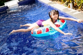 Mao Imaizumi Swimming Race Swimsuit Image Purple arena arena Vol1049