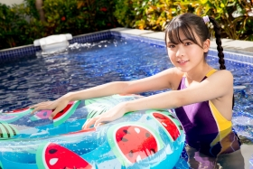 Mao Imaizumi Swimming Race Swimsuit Image Purple arena arena Vol2007