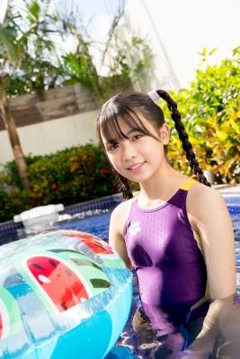 Mao Imaizumi Swimming Race Swimsuit Image Purple arena arena Vol2009
