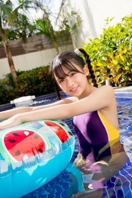 Mao Imaizumi Swimming Race Swimsuit Image Purple arena arena Vol2008