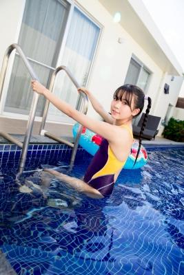 Mao Imaizumi Swimming Race Swimsuit Image Purple arena arena Vol2017