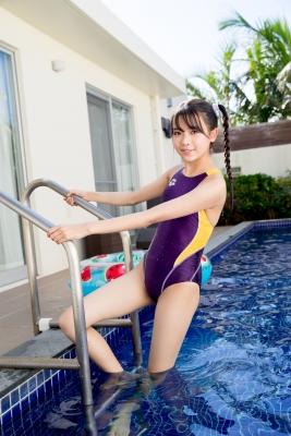 Mao Imaizumi Swimming Race Swimsuit Image Purple arena arena Vol2026