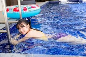 Mao Imaizumi Swimming Race Swimsuit Image Purple arena arena Vol2023