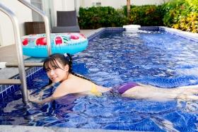 Mao Imaizumi Swimming Race Swimsuit Image Purple arena arena Vol2022