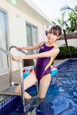 Mao Imaizumi Swimming Race Swimsuit Image Purple arena arena Vol2025