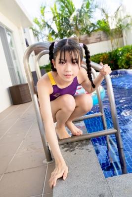 Mao Imaizumi Swimming Race Swimsuit Image Purple arena arena Vol2042