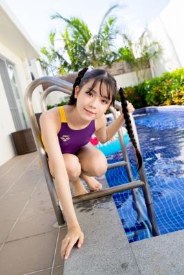 Mao Imaizumi Swimming Race Swimsuit Image Purple arena arena Vol2043