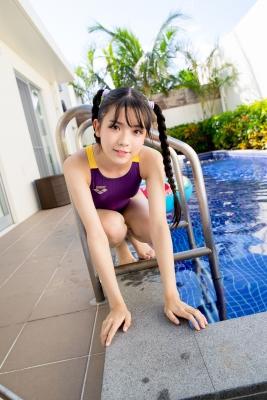 Mao Imaizumi Swimming Race Swimsuit Image Purple arena arena Vol2044