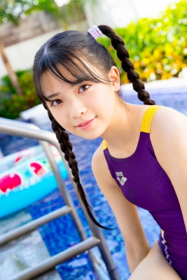 Mao Imaizumi Swimming Race Swimsuit Image Purple arena arena Vol2053