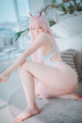 White swimming suit images Darling In The Franchise Zero Two 6005