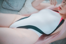 White swimming suit images Darling In The Franchise Zero Two 6006