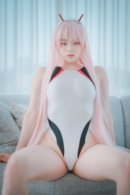 White swimming suit images Darling In The Franchise Zero Two 6011