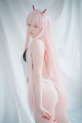 White swimming suit images Darling In The Franchise Zero Two 6015