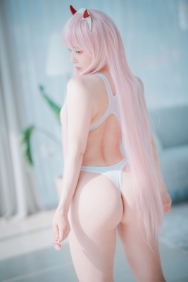 White swimming suit images Darling In The Franchise Zero Two 6014