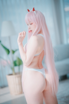 White swimming suit images Darling In The Franchise Zero Two 6043
