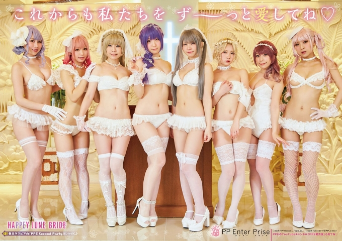 Popular cosplay beauties gather together008