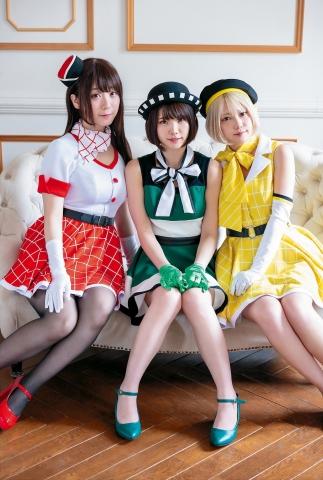 Enako Iori Moe Shinozaki Kokoro Camera Costume003