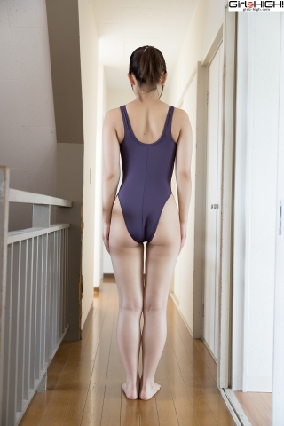 Anju Kouzuki FILA swimming suit005