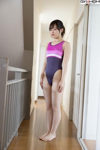 Anju Kouzuki FILA swimming suit002