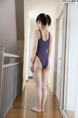 Anju Kouzuki FILA swimming suit004