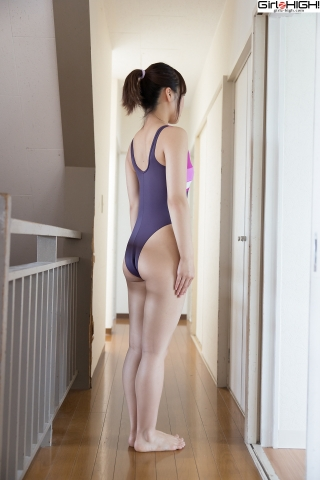 Anju Kouzuki FILA swimming suit006