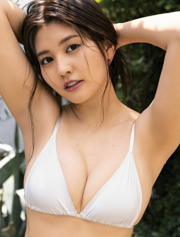 Yume Hayashi Swimsuit Gravure Perfect proportions005