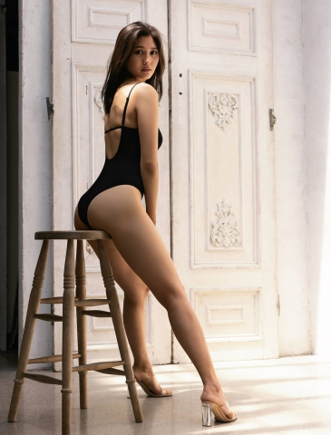 Yume Hayashi Swimsuit Gravure Perfect proportions002