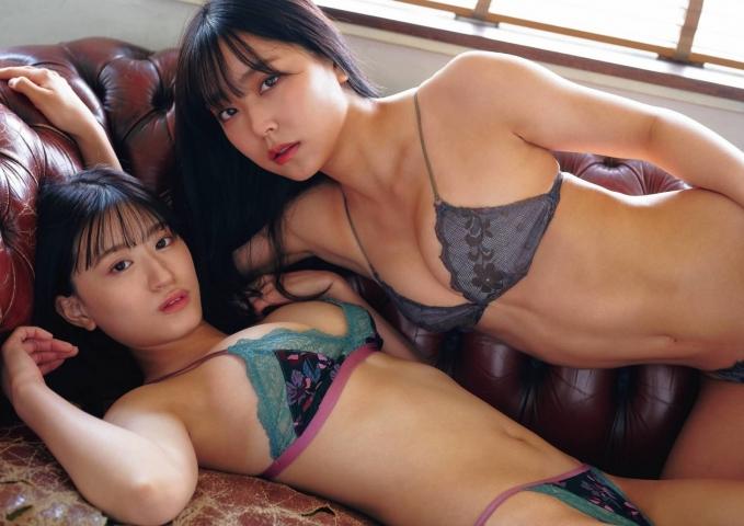 Miru Shirama Rei Uenishi graduation beauty goddess body008
