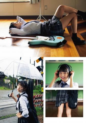 Yurika Wagatsuma Transformed into a Guitar Girl in a Light Music Club002