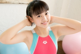 Hinari Sakiba Arena swimming suit pink2037