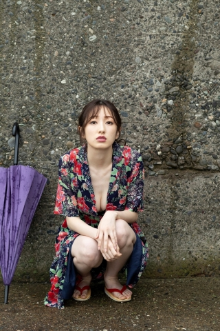 Haruka Dan noble summer bikini008