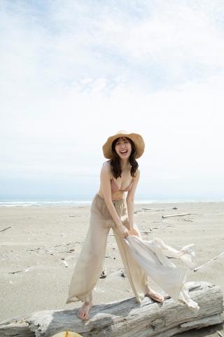 Haruka Dan noble summer bikini018