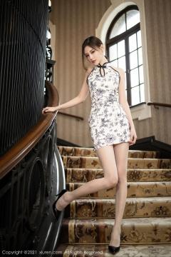 Beautiful Woman in China Dress White Lingerie Underwear Small Evening juju002