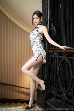 Beautiful Woman in China Dress White Lingerie Underwear Small Evening juju011
