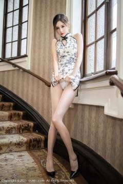 Beautiful Woman in China Dress White Lingerie Underwear Small Evening juju019