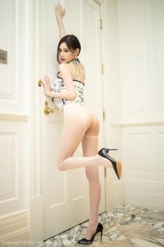 Beautiful Woman in China Dress White Lingerie Underwear Small Evening juju033
