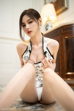 Beautiful Woman in China Dress White Lingerie Underwear Small Evening juju048