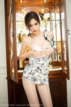 Beautiful Woman in China Dress White Lingerie Underwear Small Evening juju080