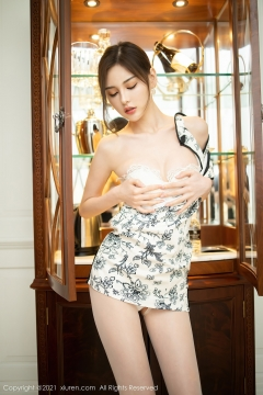 Beautiful Woman in China Dress White Lingerie Underwear Small Evening juju081