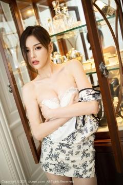 Beautiful Woman in China Dress White Lingerie Underwear Small Evening juju083