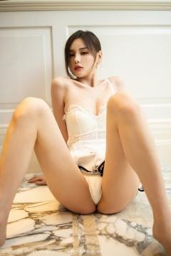 Beautiful Woman in China Dress White Lingerie Underwear Small Evening juju098