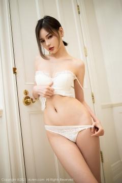 Beautiful Woman in China Dress White Lingerie Underwear Small Evening juju119