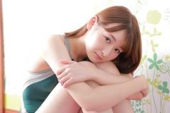 Asami Kondo Swimsuit Speedo Green017