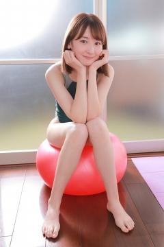 Asami Kondo Swimsuit Speedo Green035