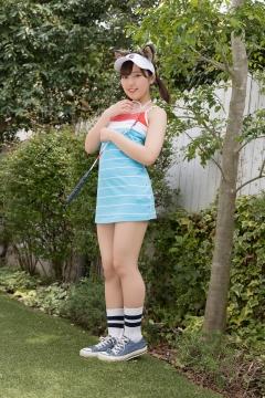Katsuki Anju Swimsuit gravure Tennis girl015